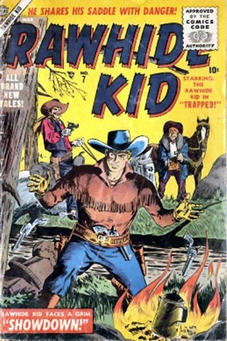 Rawhide Kid 7 Cover Image
