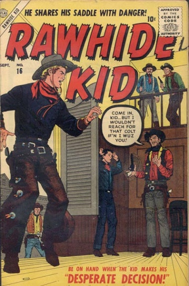 Rawhide Kid 16 Cover Image