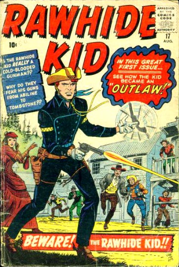 Rawhide Kid 17 Cover Image