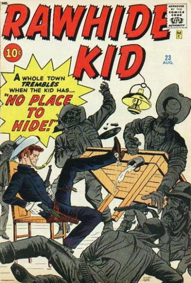 Rawhide Kid 23 Cover Image