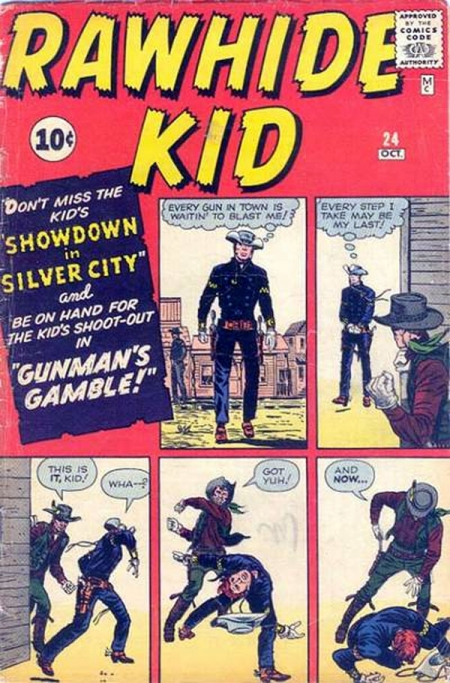 Rawhide Kid 24 Cover Image