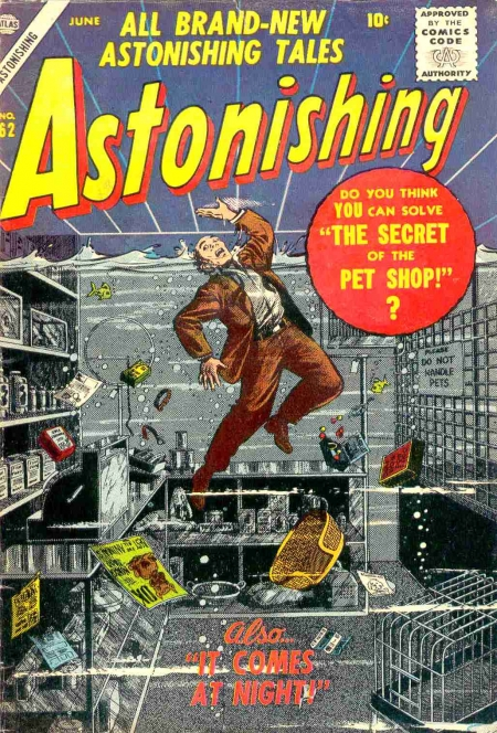 Astonishing 62 Cover Image