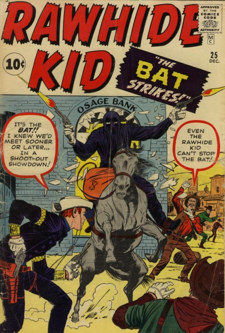 Rawhide Kid 25 Cover Image