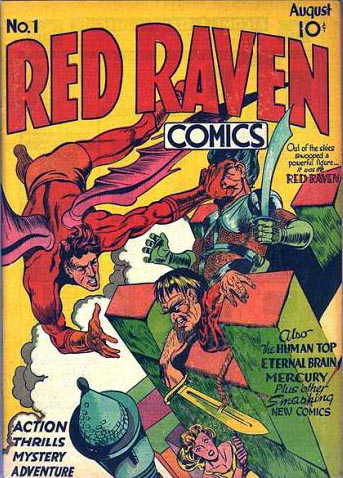 Red Raven Comics 1 Cover Image