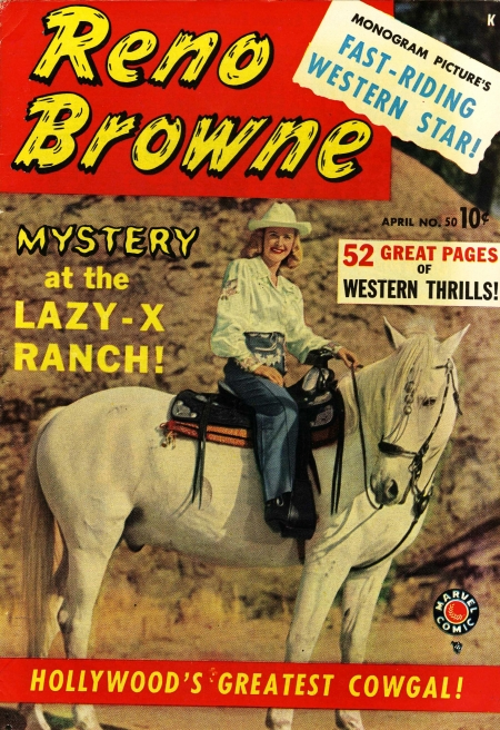 Reno Browne, Hollywood's Greatest Cowgal 50 Cover Image