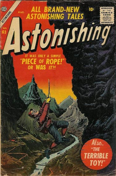 Astonishing 63 Cover Image