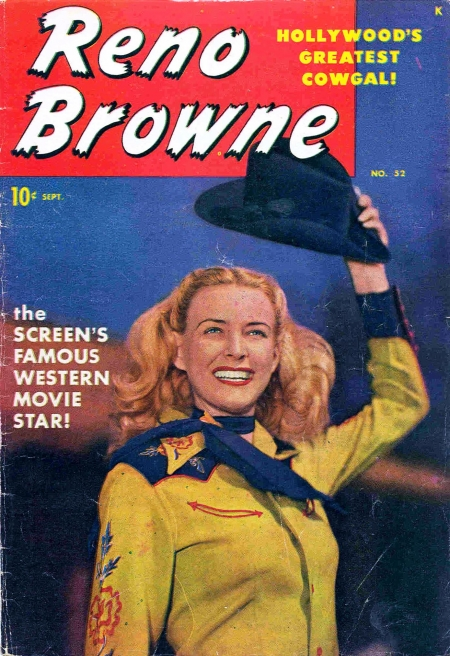 Reno Browne, Hollywood's Greatest Cowgal 52 Cover Image