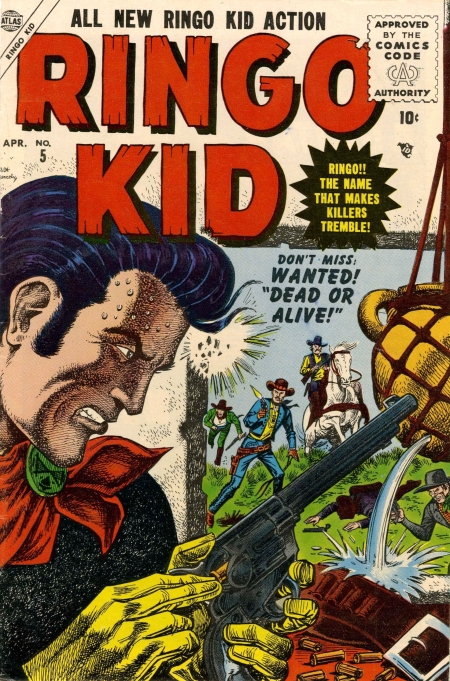 Ringo Kid 5 Cover Image