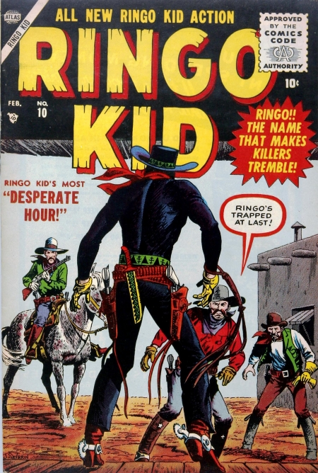 Ringo Kid 10 Cover Image