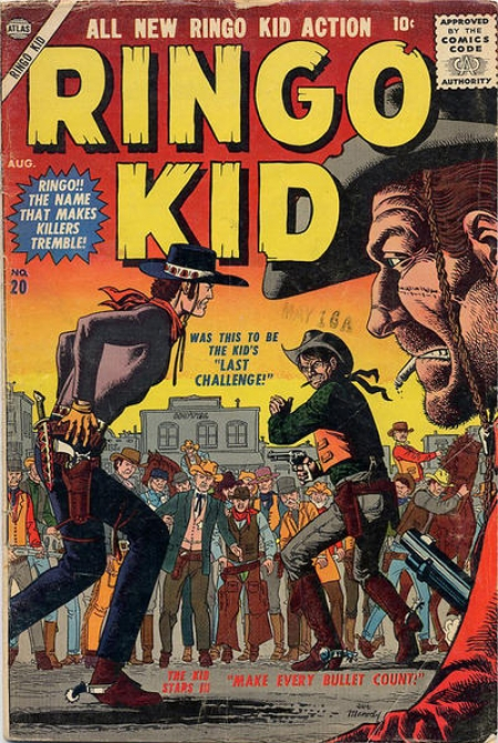 Ringo Kid 20 Cover Image