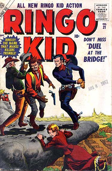 Ringo Kid 21 Cover Image