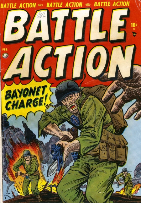 Battle Action 1 Cover Image