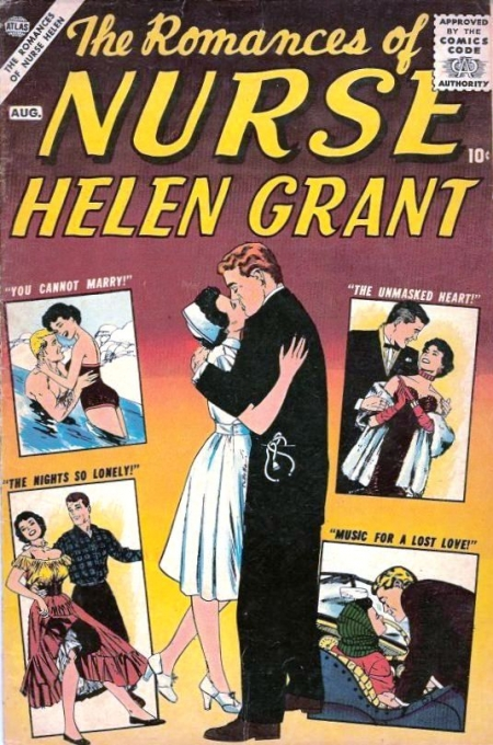 The Romances of Nurse Helen Grant 1 Cover Image