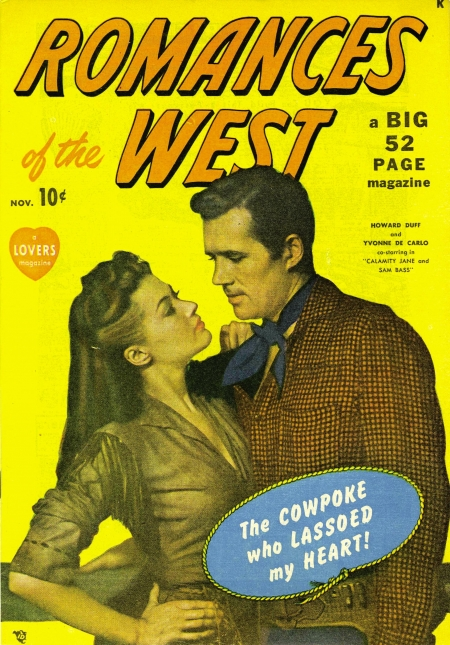 Romances of the West 1 Cover Image