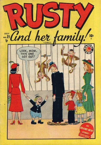 Rusty and Her Family 21 Cover Image