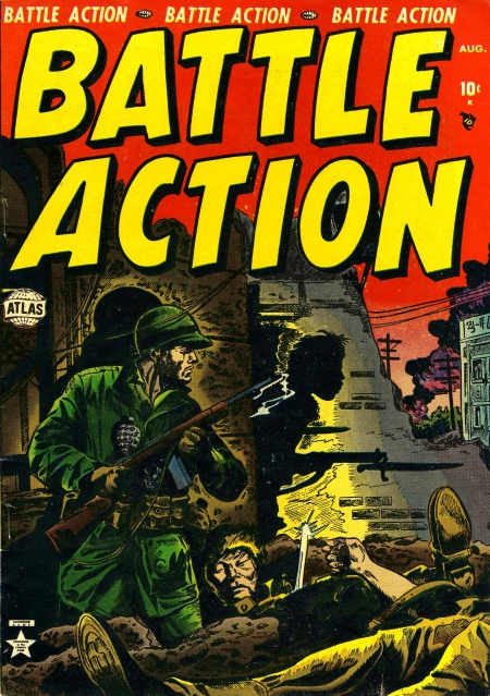 Battle Action 4 Cover Image
