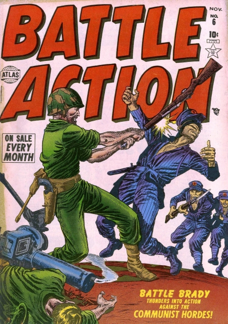 Battle Action 6 Cover Image