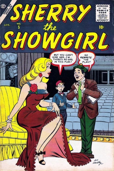 Sherry the Showgirl  5 Cover Image