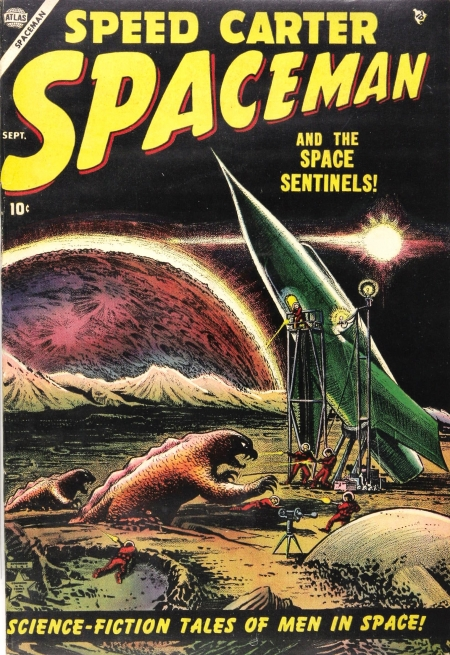 Spaceman 1 Cover Image
