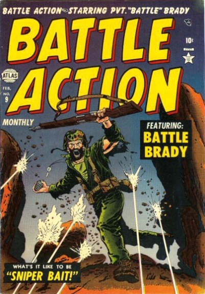 Battle Action 9 Cover Image
