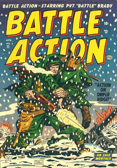 Battle Action 11 Cover Image