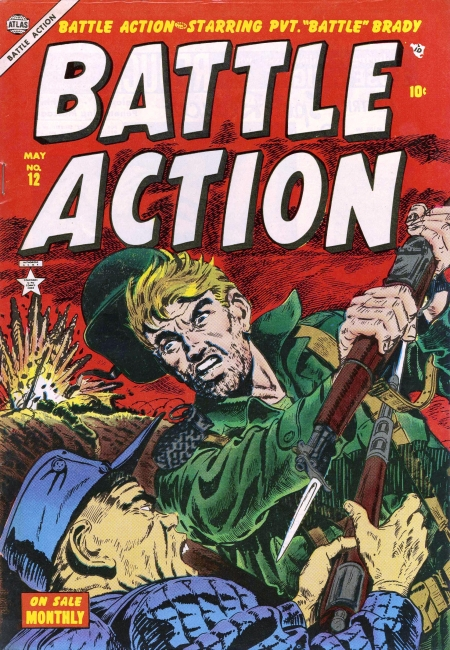 Battle Action 12 Cover Image