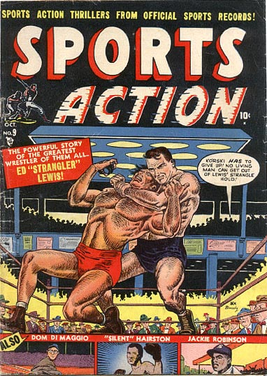 Sports Action 9 Cover Image