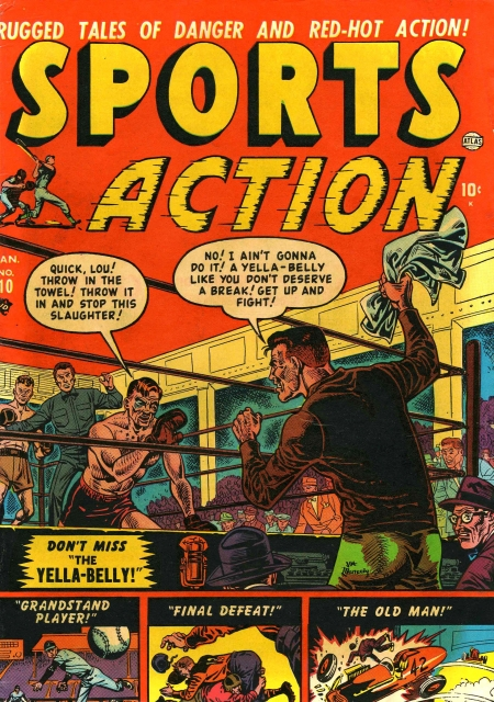 Sports Action 10 Cover Image