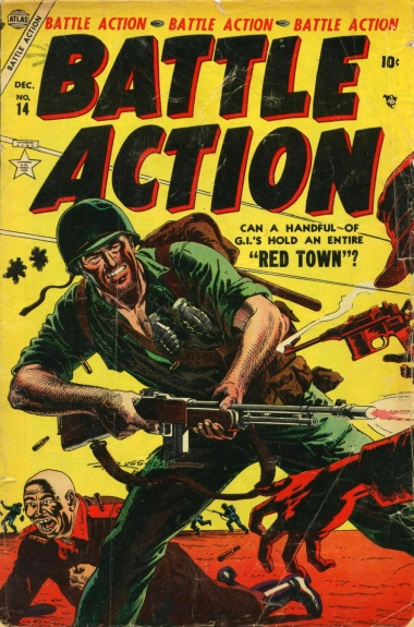 Battle Action 14 Cover Image
