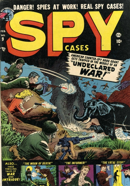 Spy Cases 9 Cover Image