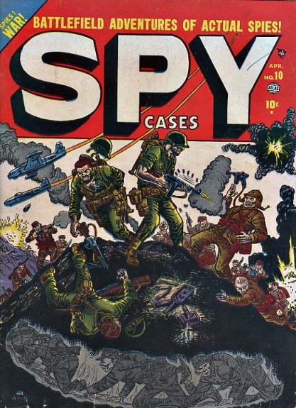 Spy Cases 10 Cover Image