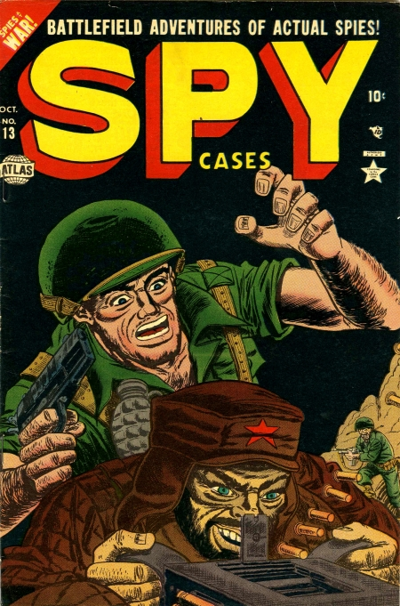 Spy Cases 13 Cover Image