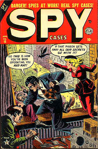 Spy Cases 16 Cover Image