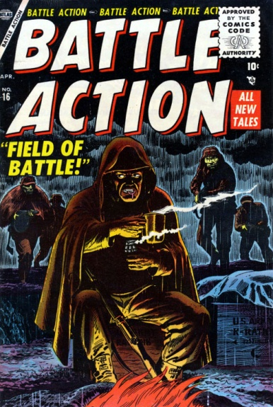 Battle Action 16 Cover Image
