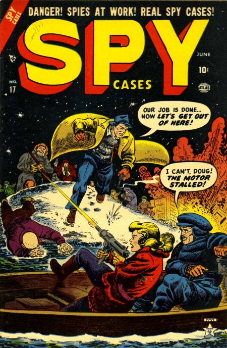 Spy Cases 17 Cover Image