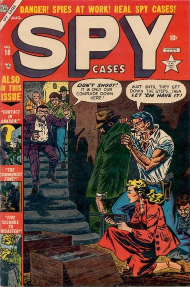 Spy Cases 18 Cover Image