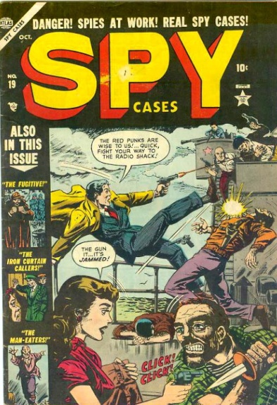 Spy Cases 19 Cover Image
