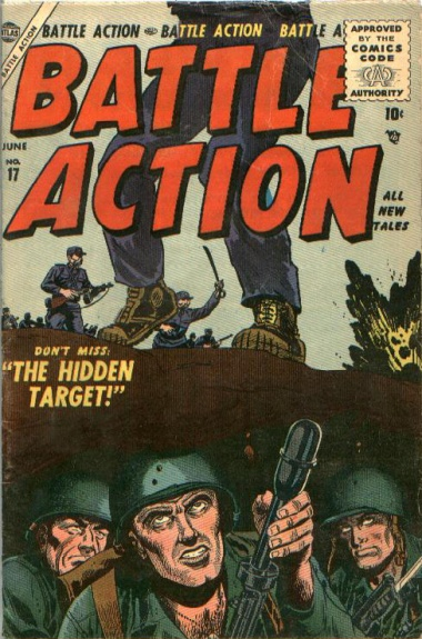 Battle Action 17 Cover Image