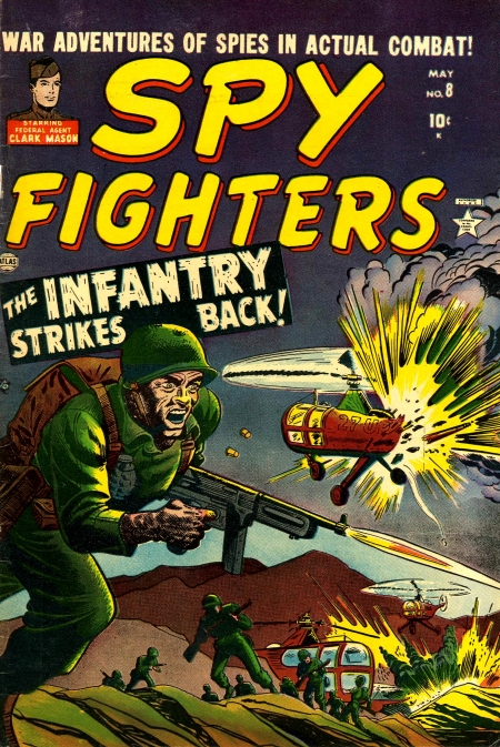 Spy Fighters 8 Cover Image