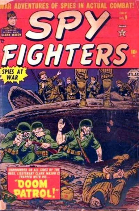Spy Fighters 9 Cover Image