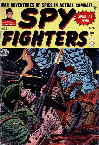 Spy Fighters 10 Cover Image