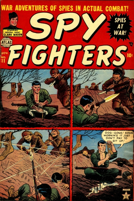 Spy Fighters 11 Cover Image