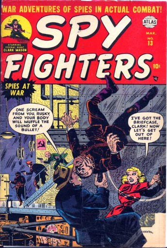 Spy Fighters 13 Cover Image