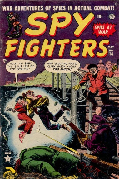 Spy Fighters 14 Cover Image