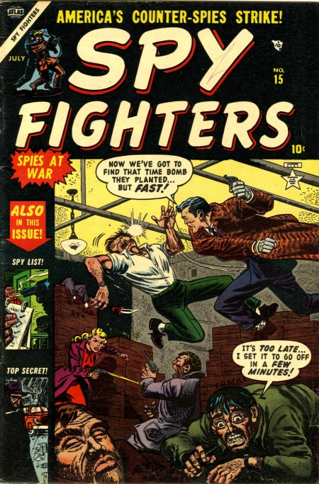 Spy Fighters 15 Cover Image