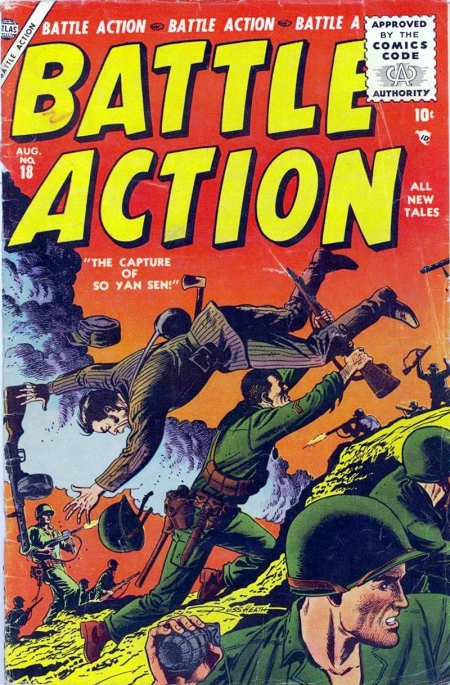 Battle Action 18 Cover Image