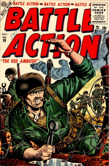 Battle Action 19 Cover Image