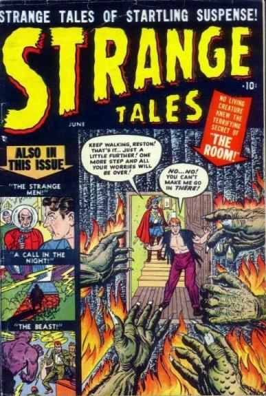 Strange Tales 1 Cover Image