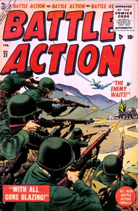 Battle Action 21 Cover Image