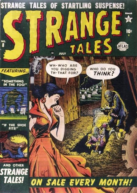 Strange Tales 8 Cover Image